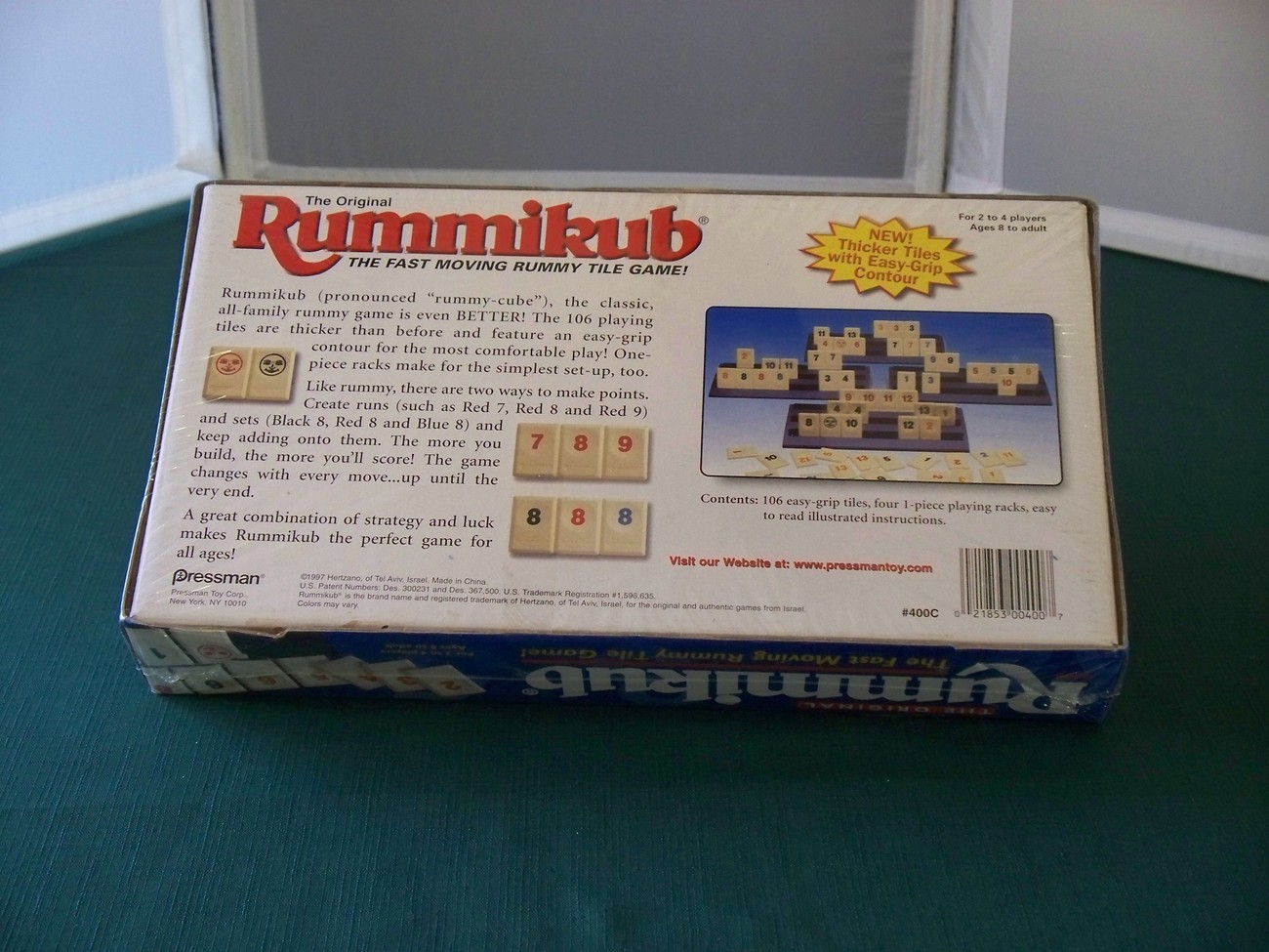 Original Rummikub Tile Game Pressman 1997 NIB Sealed