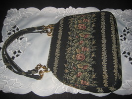 Vintage Tapestry Bag Fabulous design - $30.00