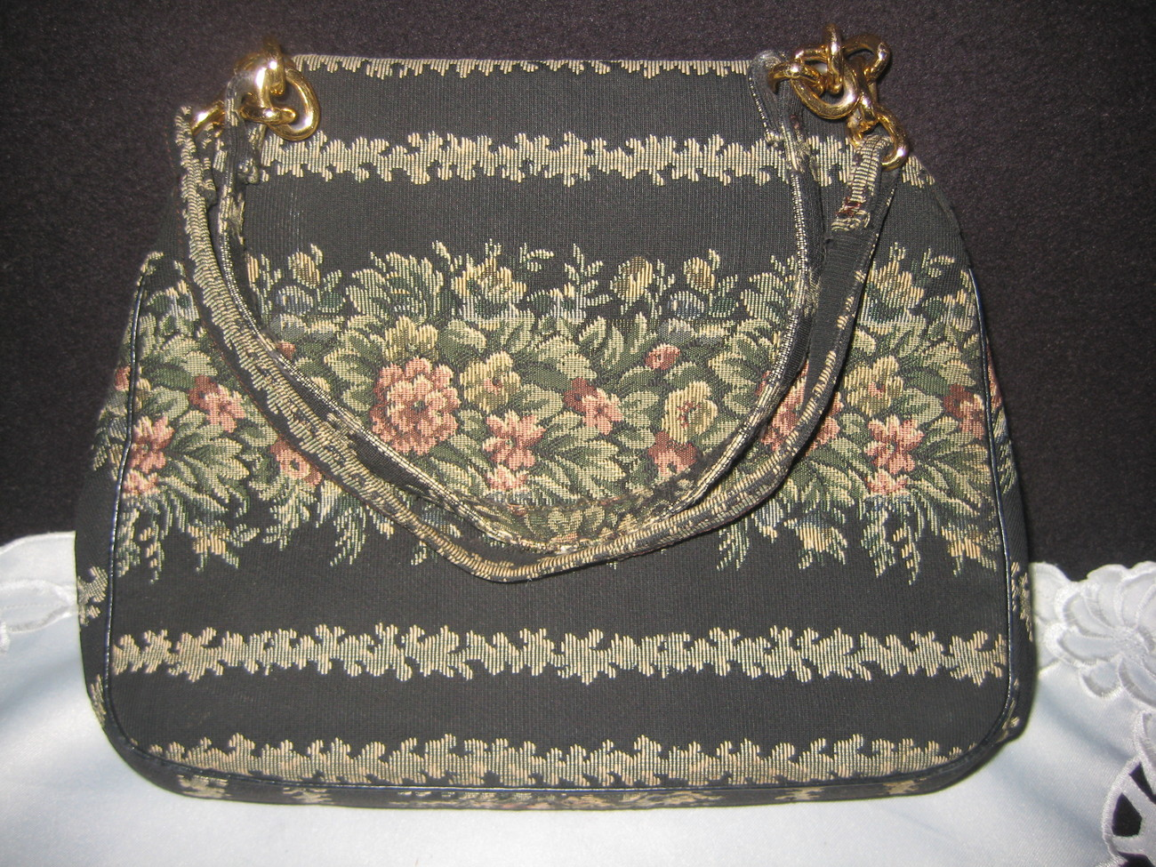 Vintage Tapestry Bag Fabulous design