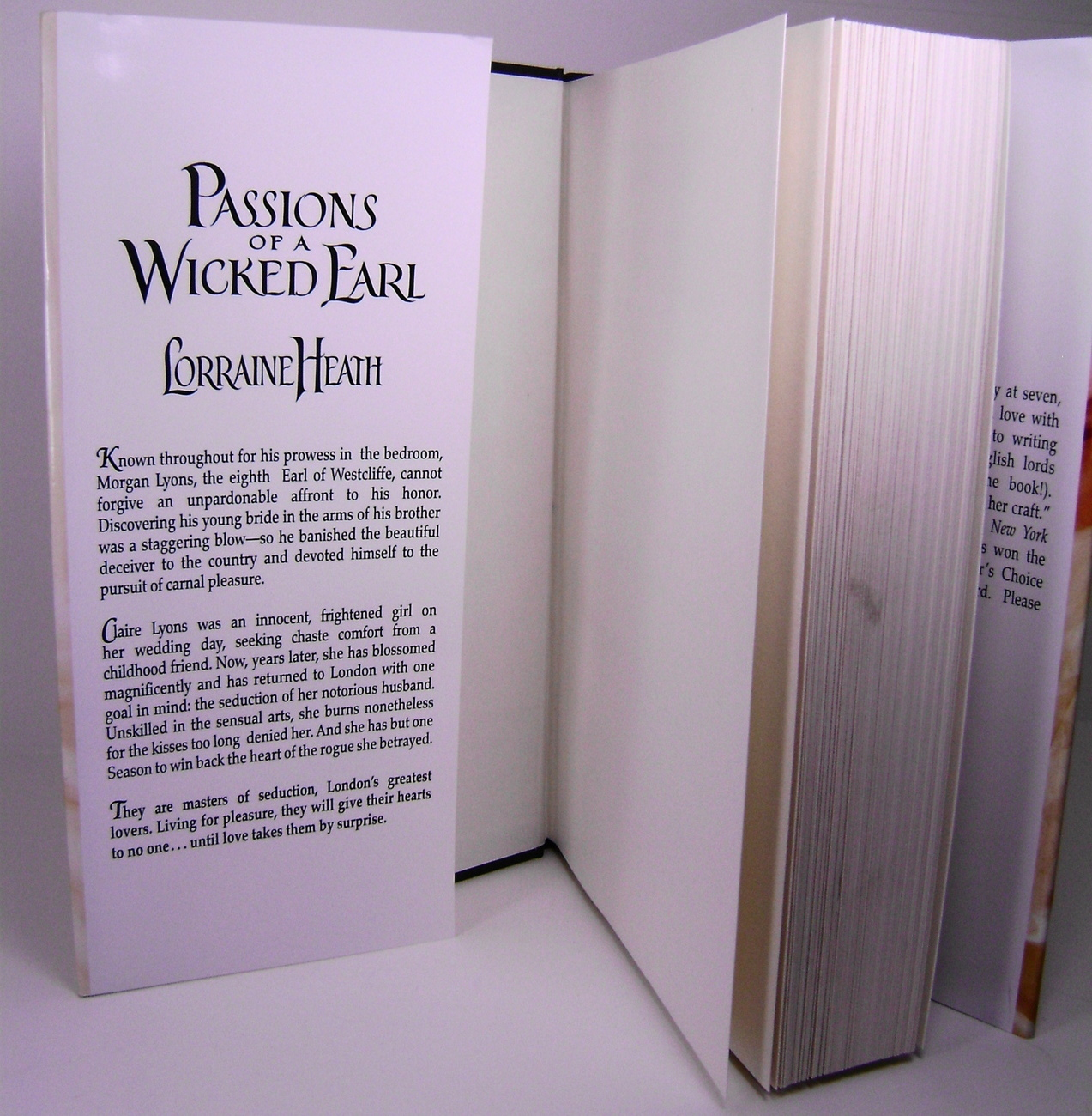 Passions Of A Wicked Earl By Lorraine Heath