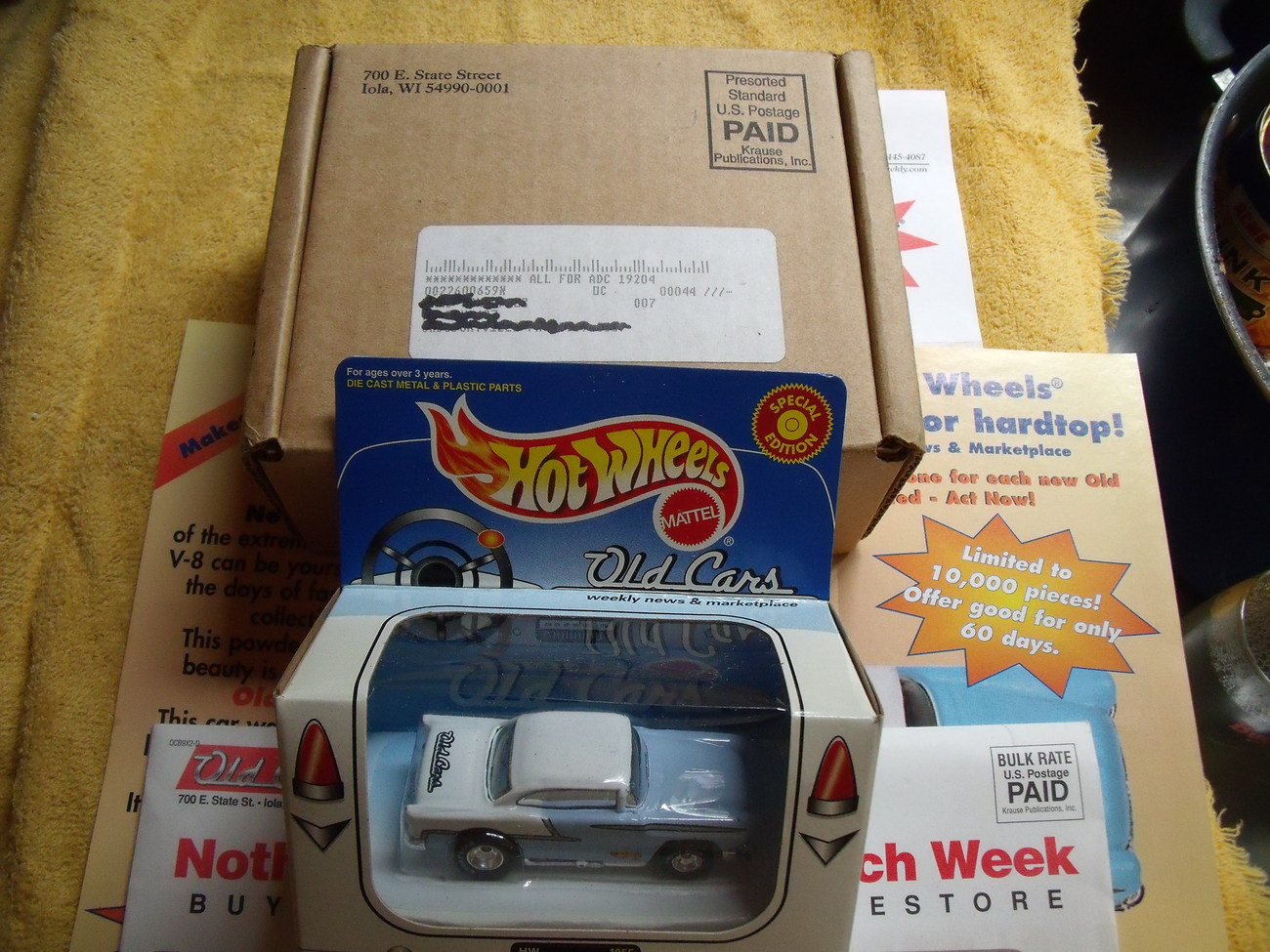 1955 Chevy Hot wheels Limited Edition and Numbered
