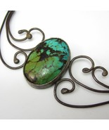 Sterling Silver and Turquoise Necklace - $80.00