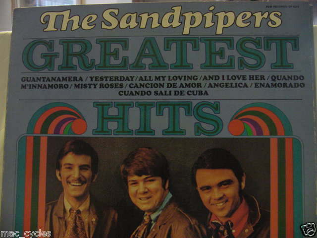 THE SANDPIPERS GREATIST HITS LP