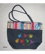 Colorful Souvenir Carryall Canvas Bag from Tropical Aruba NE - $15.99