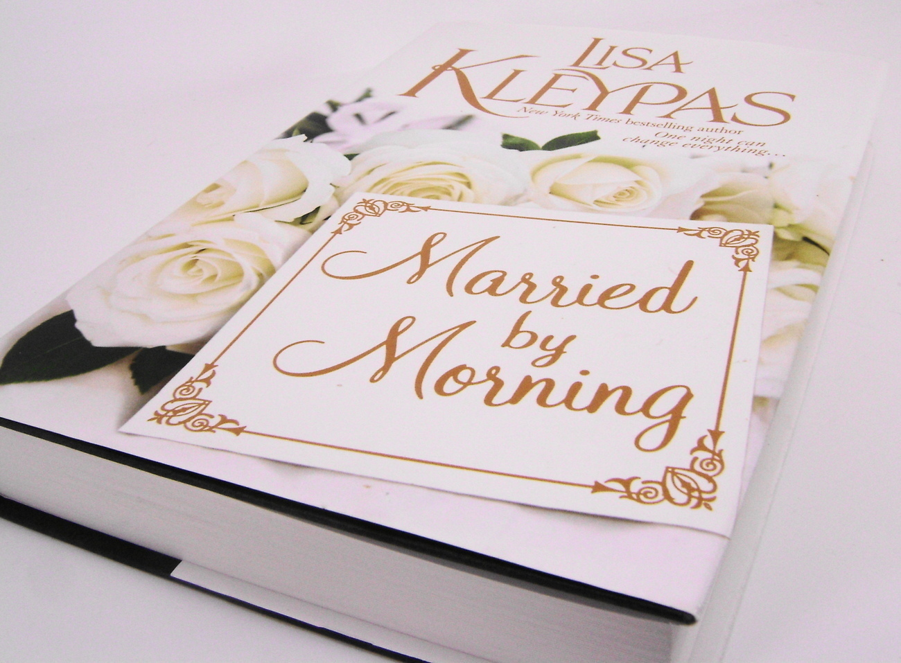 Married by Moring  Hathaway Series  by Lisa Kleypas HC