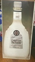 Christian Brothers White Brandy metal template Rare signs 32x15.5 l1 - $48.37