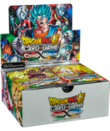 Dragon Ball Super Cross Worlds 6 Booster Pack Lot 1/4 Booster Box Series 3 - $23.99