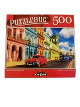 """Puzzlebug 500 Piece Puzzle Colorful Old Town 18.25""""  X 11"""" New COLORFUL - $6.23"""