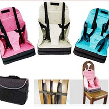 Travel High Chair Baby Booster Seat Portable Light Weight Foldable Easy ... - $40.99