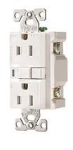 RCPT DPLX AFCI TR Plugs, 15A/125V, White - $14.99