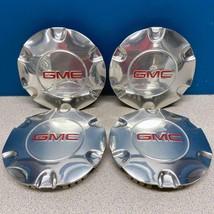 "2005-2009 GMC Envoy # 6052 Polished 17"" Rim Wheel Center Caps OE # 9595881 SET/4 - $125.00"