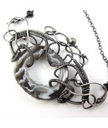 Victorian Gray Necklace - $105.00