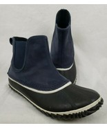 Sorel Chelsea Duck Boot Out N About Womens Size 9 Navy Waterproof Snow N... - $49.48