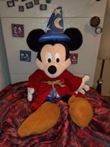 "Disney Milestone Fantasia Sorcerer Mickey Plush Stuffed Toy 22"" Limited ... - $19.86"