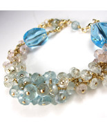 Eclipsing the Rain with Blue Skies Bracelet - A... - $238.00
