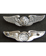 WWII Aircrew Wings Luxenberg Sterling Silver   - $65.00