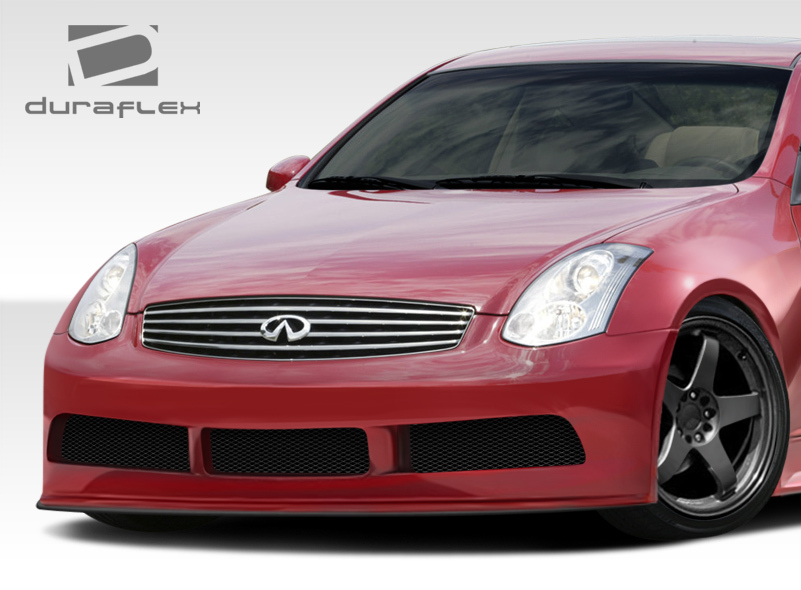 03-07 Fits Infiniti G Coupe GT500 Duraflex Front Wide Body Kit Bumper!!! 108499