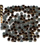 Rhinestones 3mm 10ss  GOLDEN PEACH  Hot Fix  1 Gross - $3.39
