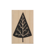 A Muse Art stamps Elegant Tree Wood Mounted Rubber Stamp #2-4151E - $2.99