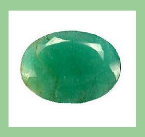 Emerald oval 8.32x6.49mm 2.20ct
