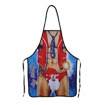 Funny Cooking Apron Cosplay Party Costume Strong Father Design Christmas... - $15.00