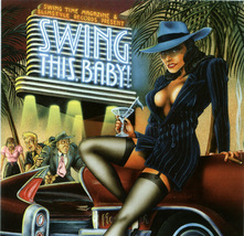 Swing This Baby! CD Retro Big Band Dance Jazz - $5.00