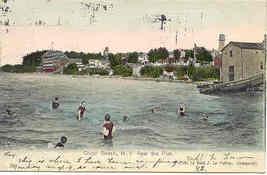 Olcott Beach New York 1906 vintage Post Card - $3.00