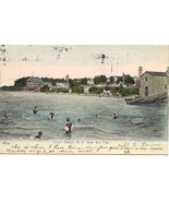 Olcott Beach New York 1906 vintage Post Card - $3.00