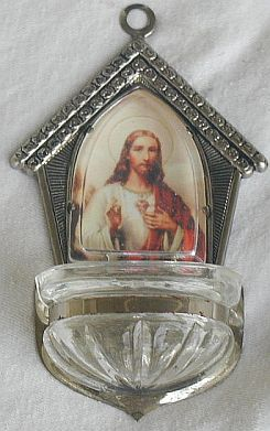 Silver coloer holy water fornt s12