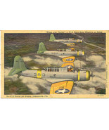 United States Navy Scout Bombers, World War 2 Post Card - $5.00