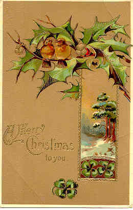 Merry Christmas To You Paul Finkenrath of Berlin Post Card