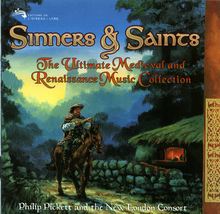 Sinners & Saints: Ultimate Medieval and Renaissance Music CD - $10.00