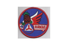 US Civil Air Patrol CAP Hawaii Wing Patch US Air Force Auxxiliary USAF AUX 3.5in - $9.99