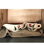 Stangl Pottery, Trenton NJ, Thistle pattern gravy boat and creamer - Vin... - $29.00