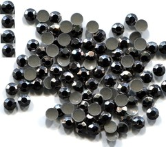 Rhinestuds Faceted Metal GREY 2mm Hot Fix Iron on 1 gross - $3.23