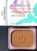 Mary Kay Powder Perfect Eye Color Marmalade 4978 Eye Shadow - $10.99