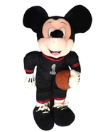 "Disney Mickey Mouse Football Player Uniform 16""... - $12.90"