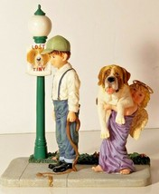 Saint Bernard Prayers & Promises Lost And Found figurine Demdaco '01 Bil... - $69.29