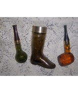 "Vintage Avon ""Corncob Pipe"" and Boot Collectible Bottles - $12.99"