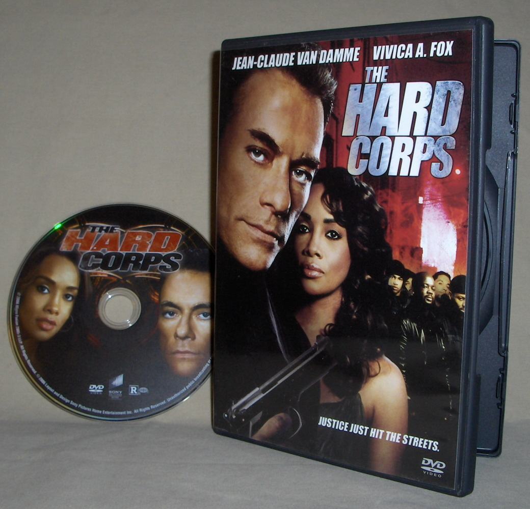 Jean Claude Van Damme  The Hard Corps   DVD