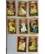 Disney Lion King Set of 8 Magnets rare Mint Conditon - $36.19