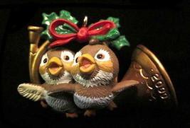 """Hallmark 2000 """"Friends in Harmony"""" Birds Ornament in Box - $6.95"""