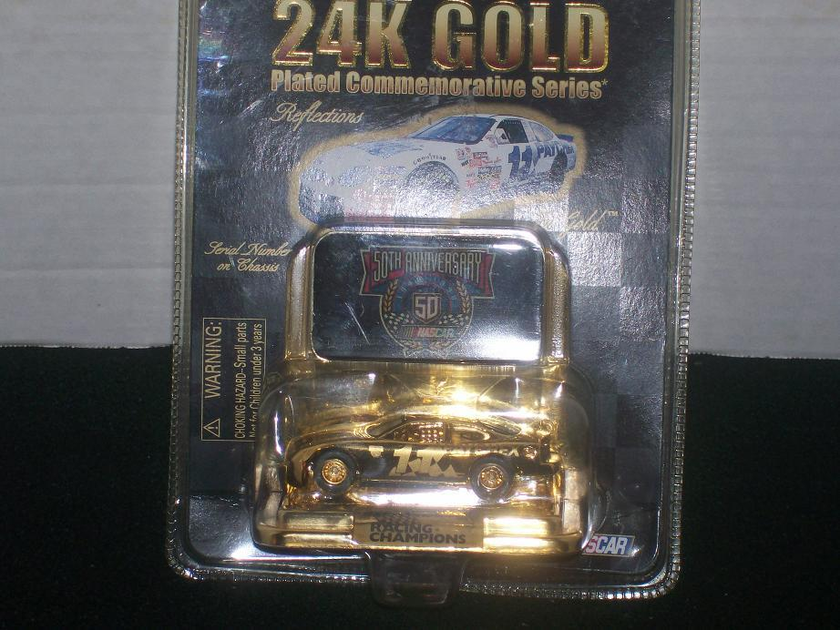 Racing Champions 24K Gold Series 50th Annversary NASCAR