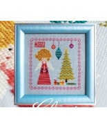 Christmas Angel holiday cross stitch chart Cottage Garden Samplings - $6.12