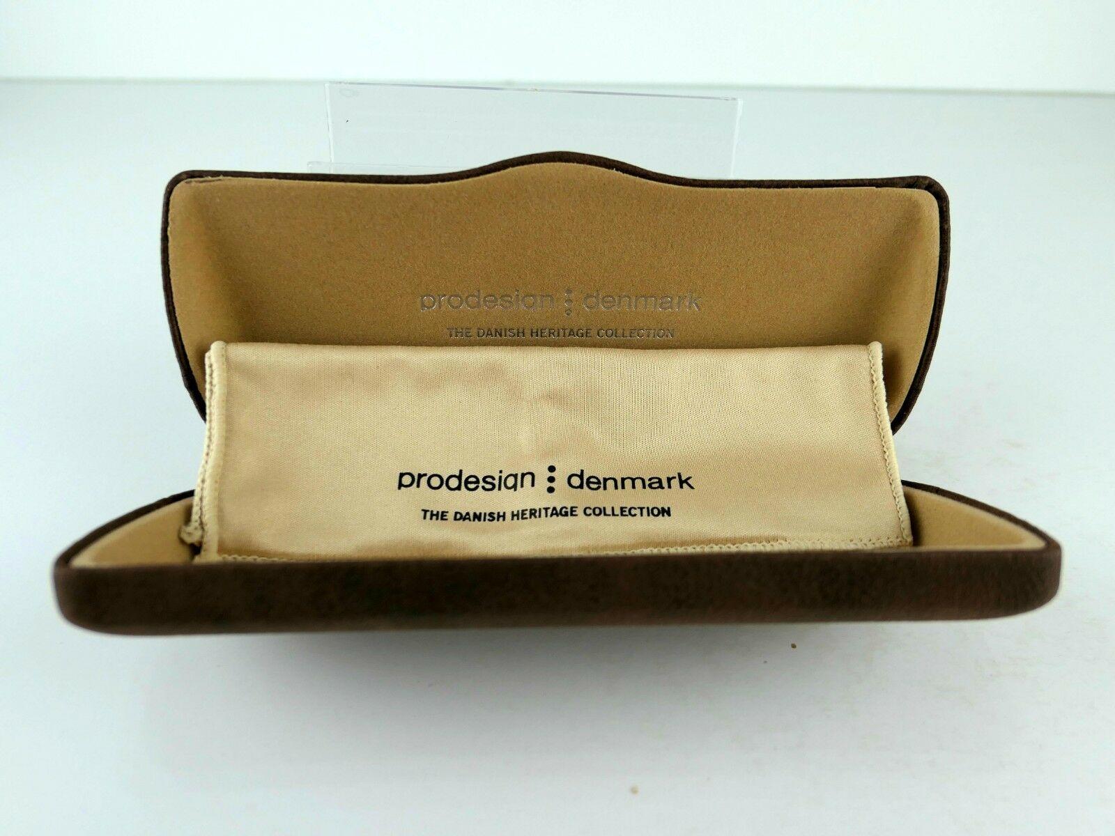 PRODESIGN DENMARK 1696 (6022) Black Shiny 55  x 16  Eyeglass Frames image 5