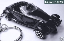 KEY CHAIN TRIPLE BLACK CHRYSLER/PLYMOUTH/DODGE PROWLER - $32.95