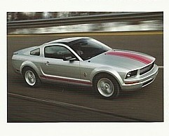 2009 Ford MUSTANG WARRIORS IN PINK sales brochure sheet 09