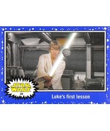 2015 Star Wars Journey To The Force Awakens Purple #29 Luke's First Lesson - $4.75
