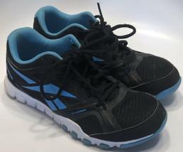 Reebok Sublite 023501 413 Running Training Shoes Black Blue Women's 6.5 ... - $19.59