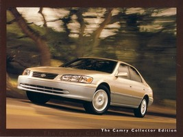 2001 Toyota CAMRY COLLECTOR EDITION brochure catalog US 01 - $8.00
